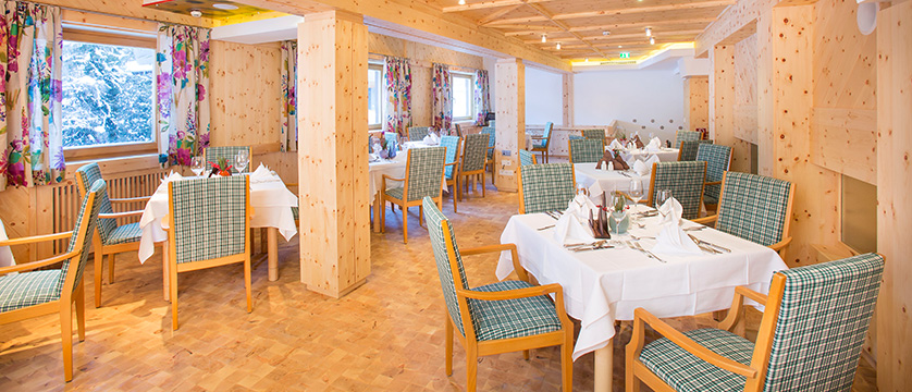 Residents' restaurant for use of Hotel-Garni Silvester guests.jpg